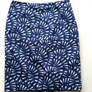 The Limited lined batique pencil skirt.